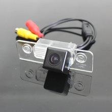 ДЛЯ Ford Fusion 2002 ~ 2012/Автомобильная Парковка Задним Ходом Камеры/Камера Заднего вида камера/Резервное копирование Камера + Широкоугольный/HD CCD Ночь видение