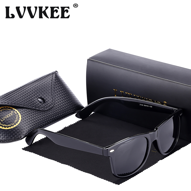 LVVKEE 2018 популярные классические Для женщин брендовые дизайнерские поляризованные солнцезащитные очки Для мужчин Заклепки покрытие зеркало...