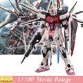 Modelo Daban Gundam semente de MG MBF-02 de greve Rouge Ootori ver. Rm 1/100 Kit plástico montado brinquedos figura de ação