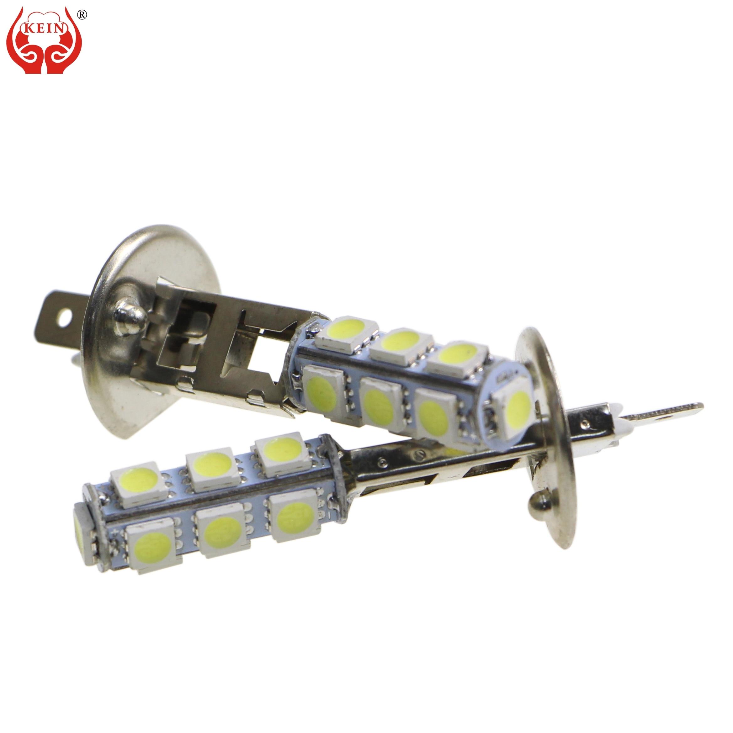KEIN 6PCS H1 led bulb 13smd 5050 led car Auto h1 Fog light Daytime Running DRL