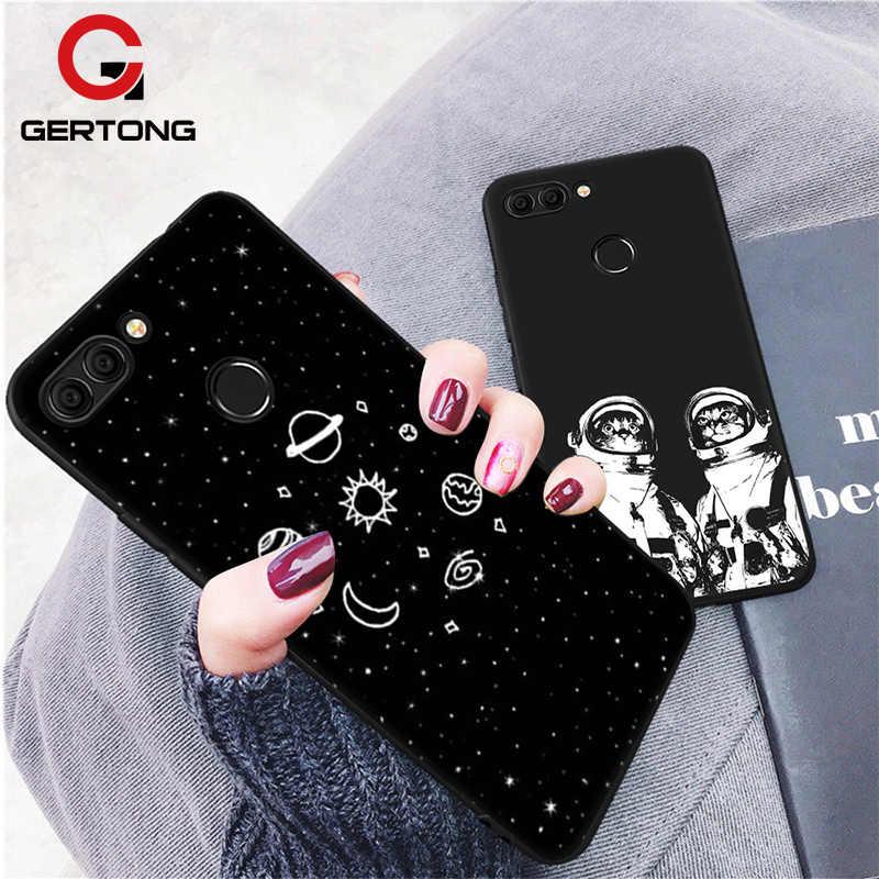 GerTong Funda עבור Huawei P8 לייט 2017 P20 פרו P10 לייט מקרה עבור Huawei כבוד 9 לייט 8 כיסוי רך סיליקון דק מקרי טלפון
