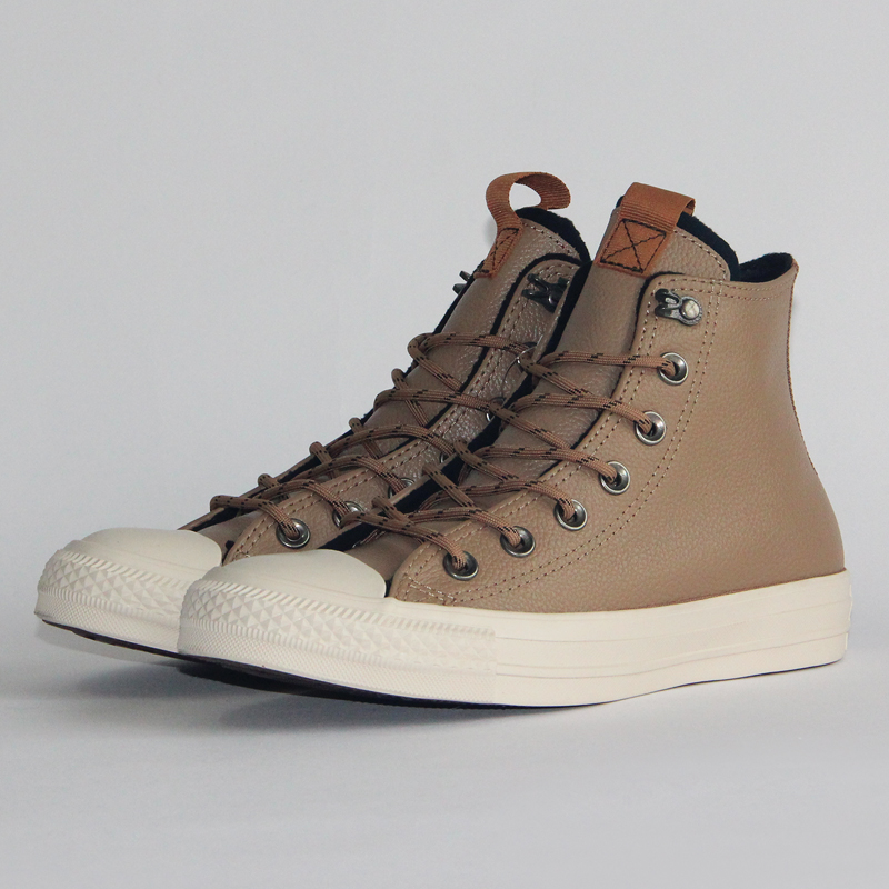 406e3a3802c Converse Chuck Taylor All Star leather Autumn and winter Thick warm ...