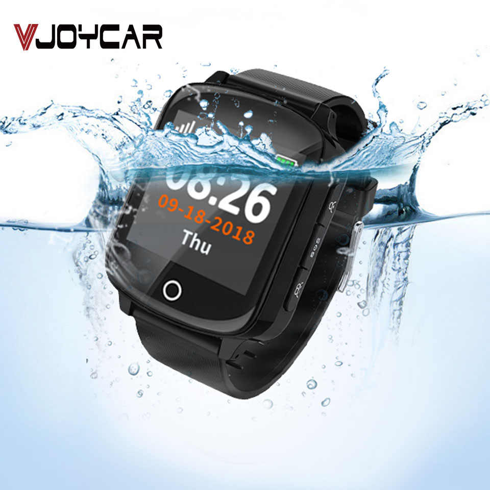Kids Smart Watch GPS Tracker Children Waterproof Two-way Phone Call SOS Microphone Voice Monitor Remotely GEO Fence FREE APP