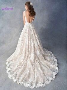 Image 2 - מותאם אישית שמלת כלה 2020 חדש קוריאני סגנון עבודת יד שמלת כלה כלה חתונה שמלת נסיכה לבנה כלה חתונת שמלות