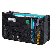المحمولة متعددة الوظائف المزدوج سستة حقيبة التخزين s منظم أدوات التجميل حامل المنظم حقيبة التخزين مقسم حقيبة للسفر 2019