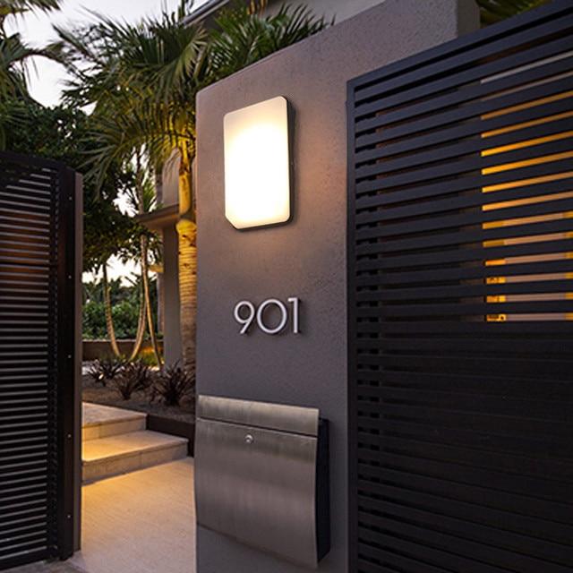 Modern Villa Porch Light Led Wall Light Outdoor Waterproof