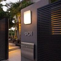 Modern Villa Porch Light LED Wall Light Outdoor Waterproof IP54 Modern Porch Light LED Indoor/outdoor Wall Lamps Garden Lamp