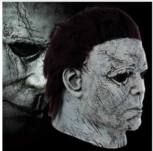 Detail Feedback Questions about 2019 Hot Movie Halloween Horror Michael  Myers Mask Cosplay Adult Latex Full Face Helmet Halloween Party Scary Props