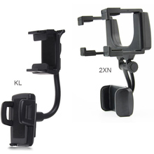Rotary Car rearview mirror Mounts Mobile Phone Car Holders Stands For Nokia 7 plus,Lenovo P2 P2a42,MEIZU PRO 6
