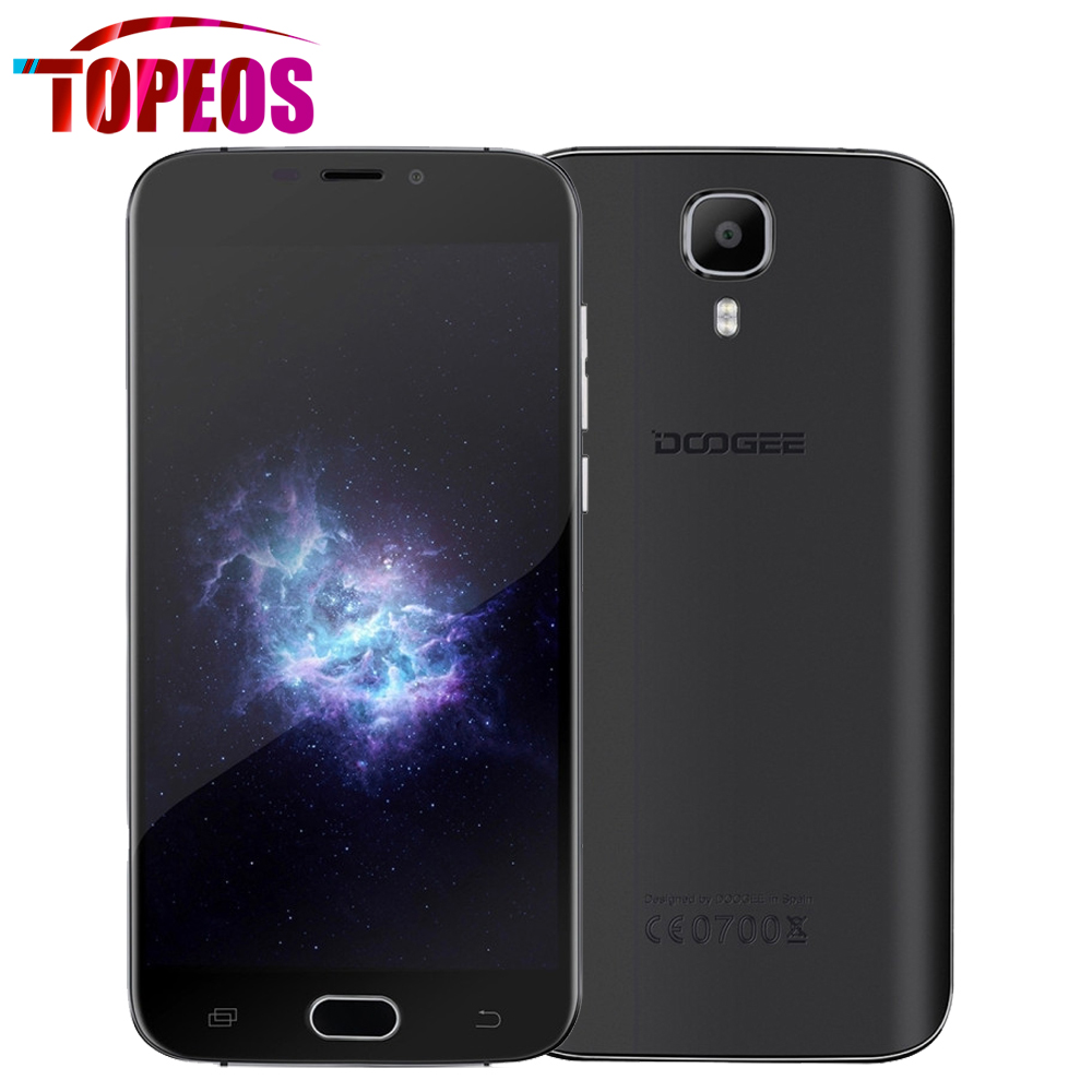 Original DOOGEE X9 PRO Smartphone 5 5 inch HD MTK6737 Quad Core Android 6 0 4G