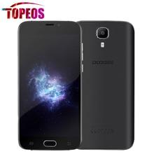 Ursprüngliche DOOGEE X9 PRO Smartphone 5,5 zoll HD MTK6737 Quad Core Android 6.0 4G LTE 2 GB RAM 16 GB ROM 1280*720 3000 mAh fingerabdruck