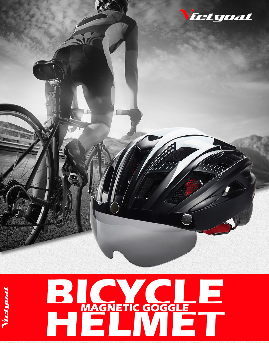Bike Helmet, LED Backlight, Bicycle, Helmet Men Women Goggles Cycling Helmet Ultralight MTB Road 12