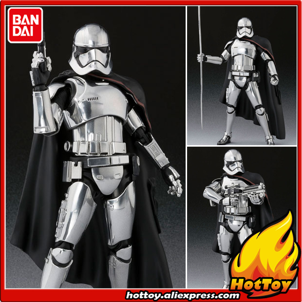 Original BANDAI Tamashii Nations S.H.Figuarts SHF Action Figure - Captain Phasma (The Last Jedi) from Star Wars: The Last Jedi anime captain america civil war original bandai tamashii nations shf s h figuarts action figure ant man