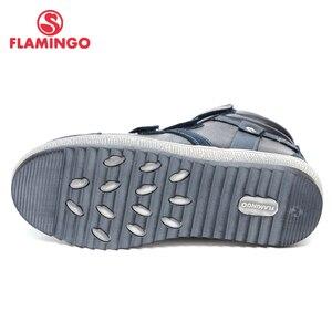 Image 4 - QWEST (فلامنغو) الخريف ورأى المضادة للانزلاق موضة أحذية أطفال طويلة الرقبة عالية الجودة الاطفال أحذية للبنين حجم 31 36 شحن مجاني W6XY231/232