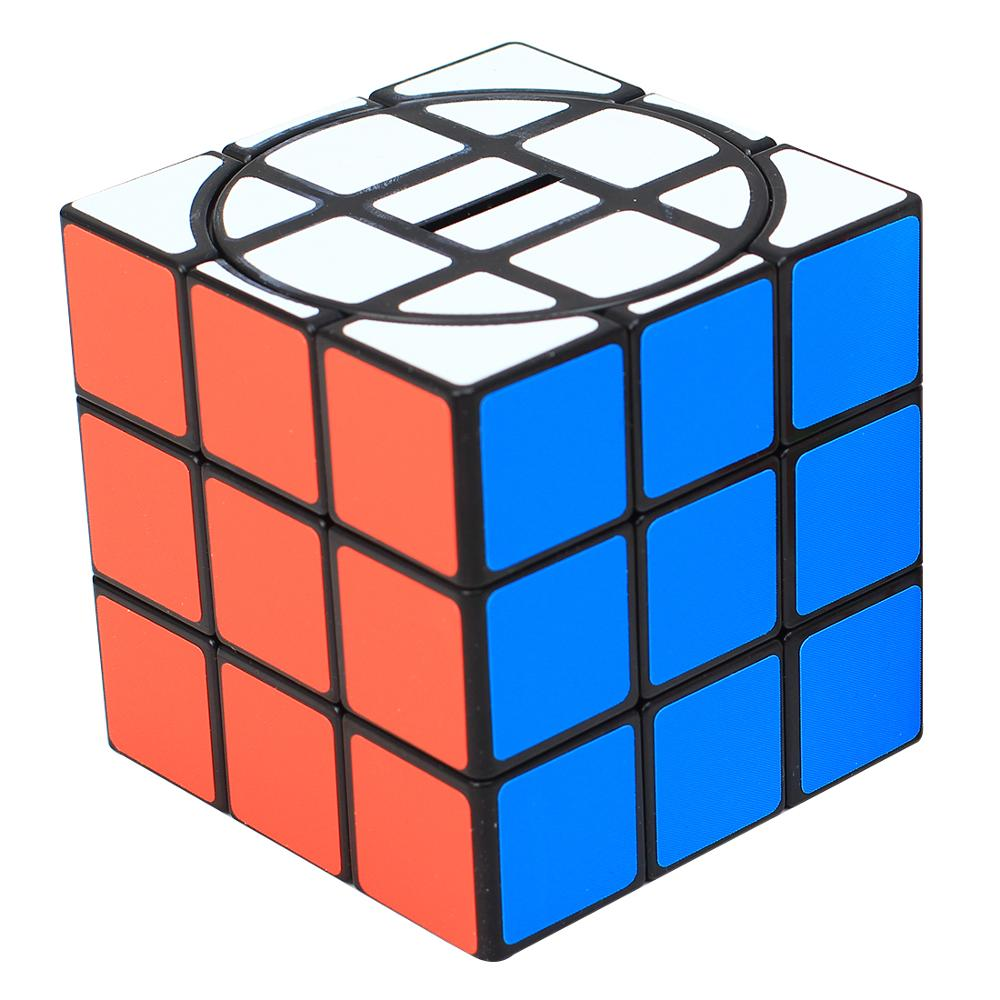 2019 New Arrivals ZCUBE 3x3 Money Pot Magic Cube Piggy Bank Puzzle Toy Novelty Gift - Colorful