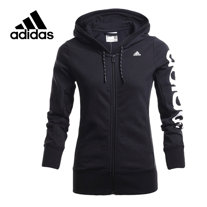 Adidas Original New Arrival Official Women's Jacket Breathable Hooded Sportswear AJ4579 adidas new arrival official ess 3s crew men s jacket breathable pullover sportswear bq9645