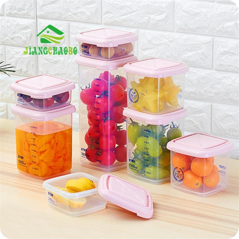 JiangChaoBo Kitchen Storage Tank Serbatoio di plastica Serbatoio di - Organizzazione e deposito in casa - Fotografia 1