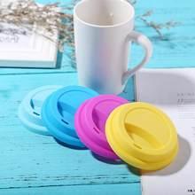Couvercle de gobelet en Silicone épais | Réutilisable Anti-poussière, couvercle de tasse d'isolation étanche, tasse de café, de thé, résistant à la chaleur, sûr, couvercle en Silicone sain