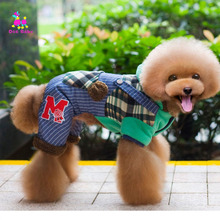 Dogbaby Cotton Raccoon small Large Dogs Coat For Dog Clothes Winter Pet Clothing Hooded Sweater Thicken Jacket Hoodies SG16