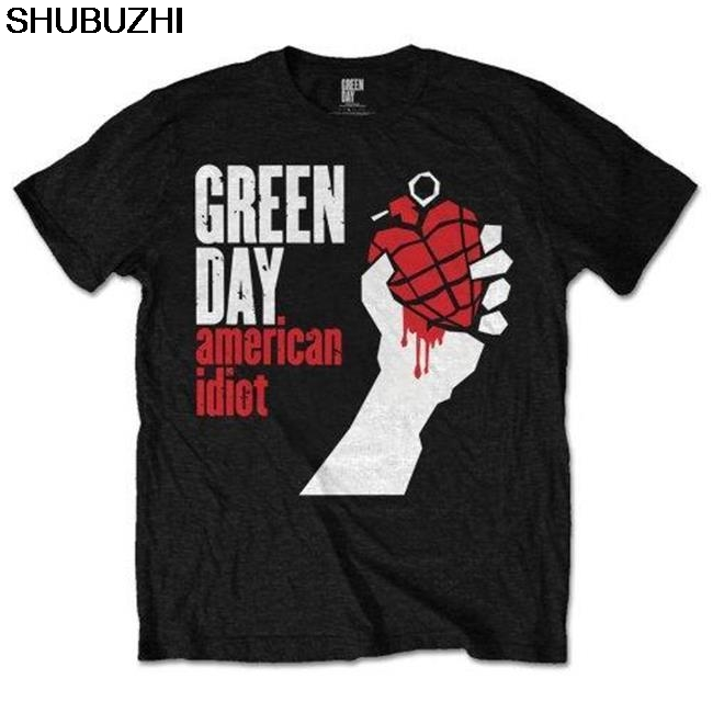OFFICIAL LICENSED - GREEN DAY - AMERICAN IDIOT T SHIRT PUNK POP ROCK