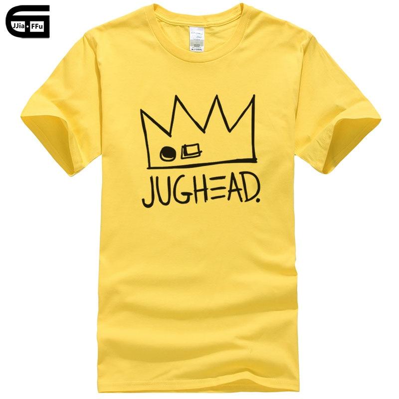 Tops & Tees Riverdale Jughead Jones Printed T-shirt New Mens Tshirt Cotton Tees 2018 New Summer Arrival Mens Fashion Tops T236 Drip-Dry Men's Clothing
