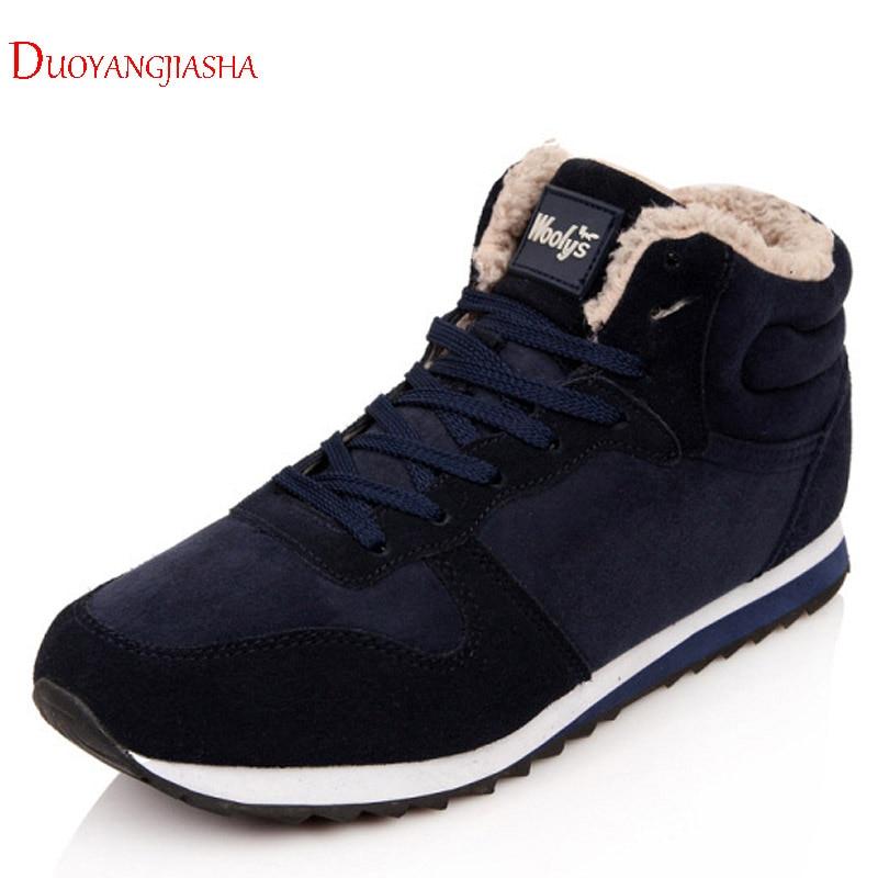 En 2018 Hombres blue Zapatos Felpa Seguridad Invierno Rebaño Black La Zapatillas Superficial Ventas D Los Deporte Trabajo De El Botas Caliente PdqwF4F