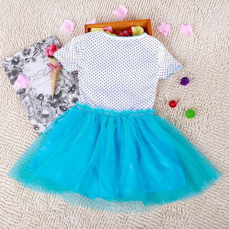Kids 2-7år New Girls Dresses Vestidos Elsa Klänning Barn Snow Queen - Barnkläder - Foto 4