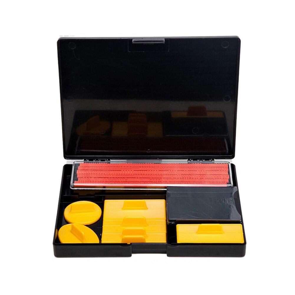 Sceau brillant caractères alphanumériques combinaison mobile tampon en caoutchouc bureau personnalisé papeterie entreprise Mini Stamper Kit d'impression