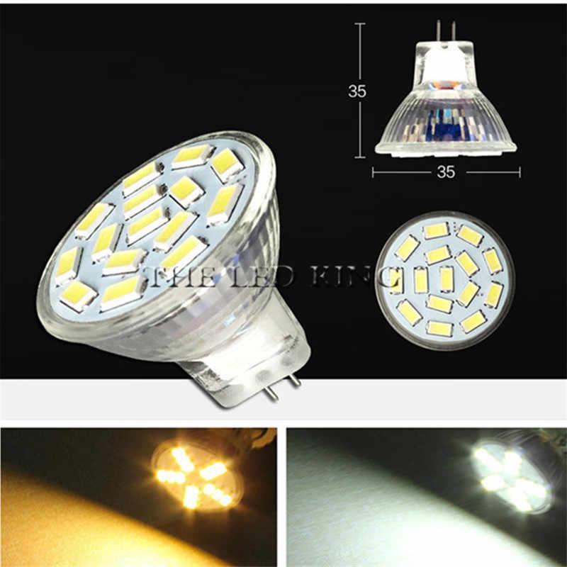 Ultra Bright GU4 LED Bulb lamp 3W 5W 7W MR11 LED DC / AC 12V - 24V Dimmable COB LED Spot light glass AC85V-265V GU4.0 Spotlight