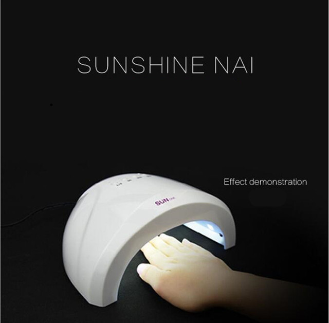 3pcs/lot Sunshine 48w uv led nail lamp for curing LED polish curing Dryer 48W Art UV Gel curing LED Nail light 3