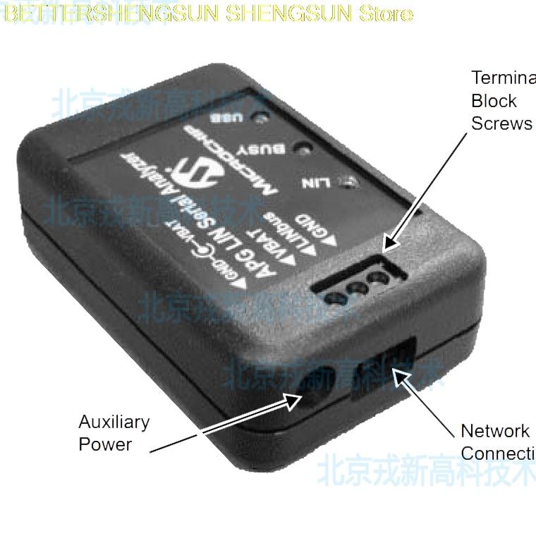 APGDT001 LIN Serial Analyzer LIN Bus Analyzer Original in ABS Sensor from Automobiles Motorcycles