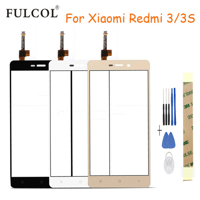 Smartphone Touch Screen For Xiaomi Redmi 3S Glass Capacitive sensor For Xiaomi Redmi 3/3S Touch Screen panel free shipping+tools
