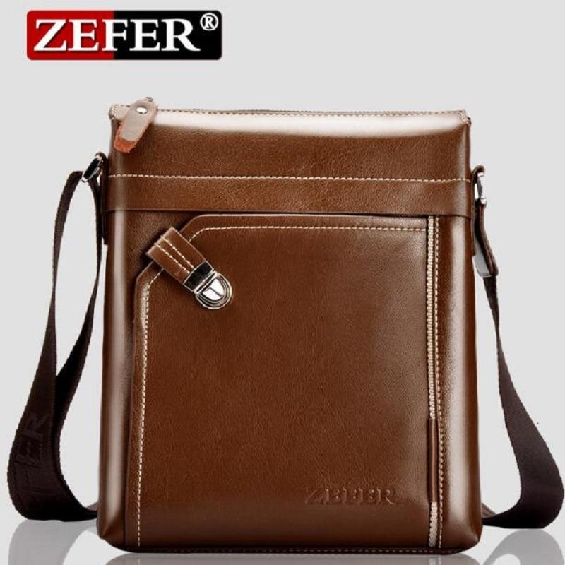 Popular Zefer Men Leather Bag-Buy Cheap Zefer Men Leather Bag lots ...