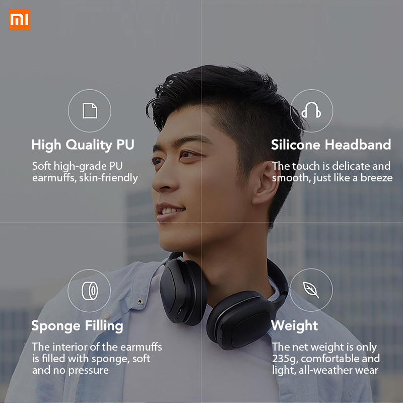 Image 4 - Original Xiaomi Mi Bluetooth Headphone Xiomi Headset 40mm Dynamic Driver AptX Bass Stereo Headset with Dual Mics-in Bluetooth Earphones & Headphones from Consumer Electronics