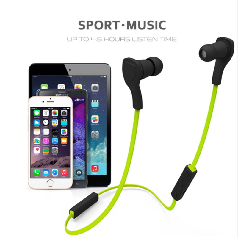 HS06/ BT-H06 Sport Bluetooth headphoneV3.0+EDR Microphone headset headphone Handsfree Stereo Sound for Android IOS Phone qiyin bt 990 stylish bluetooth v3 0 edr wireless stereo headset w microphone black silver
