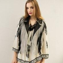 New 2016 Women Winter Natural Ostrich Feathers Turkey Feather Faux Fur Vest Tassel Vest Fur Coat Fur Coat Cot0520