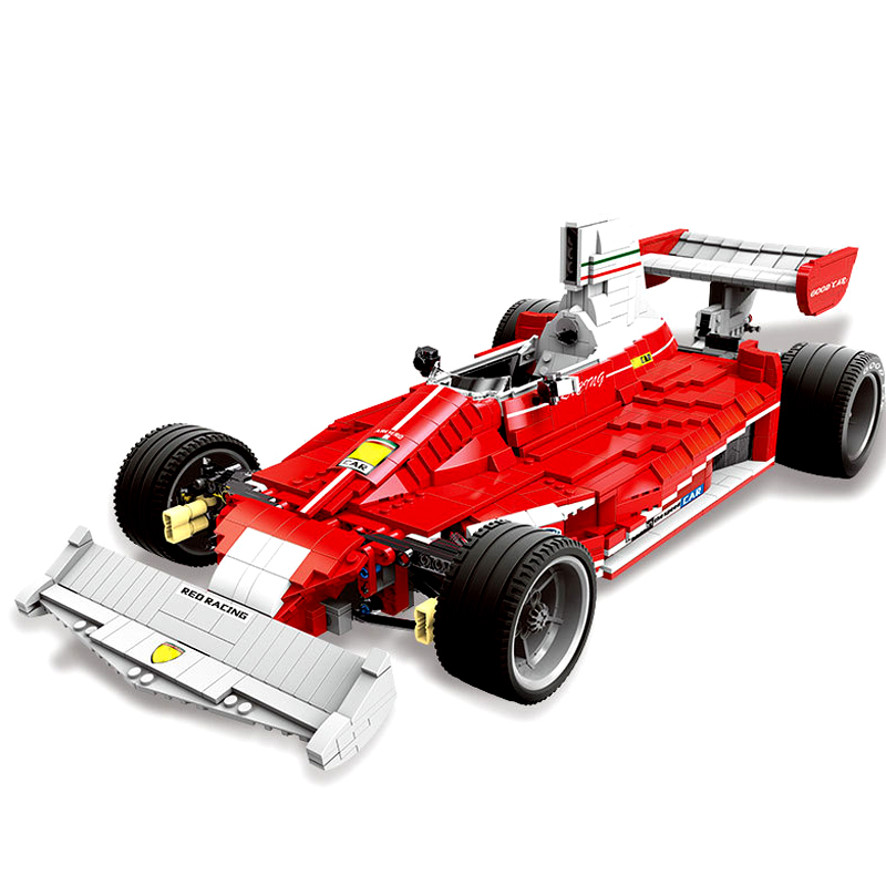 Upgraded XINGBAO 03023 The Red Power Racing Car Set Building Blocks Bricks Educational Legoing Toys Christmas Gifts for Kids