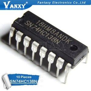 Image 2 - 10 adet SN74HC138N DIP16 SN74HC138 DIP 74HC138N 74HC138 DIP 16 yeni ve orijinal IC