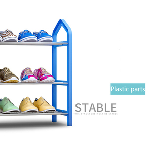 Image 4 - Home Furniture Simple Shoe Rack Multi layer Storage Shoe Cabinet Economical Assembly Shoe Shelf Storage Organizer Stand