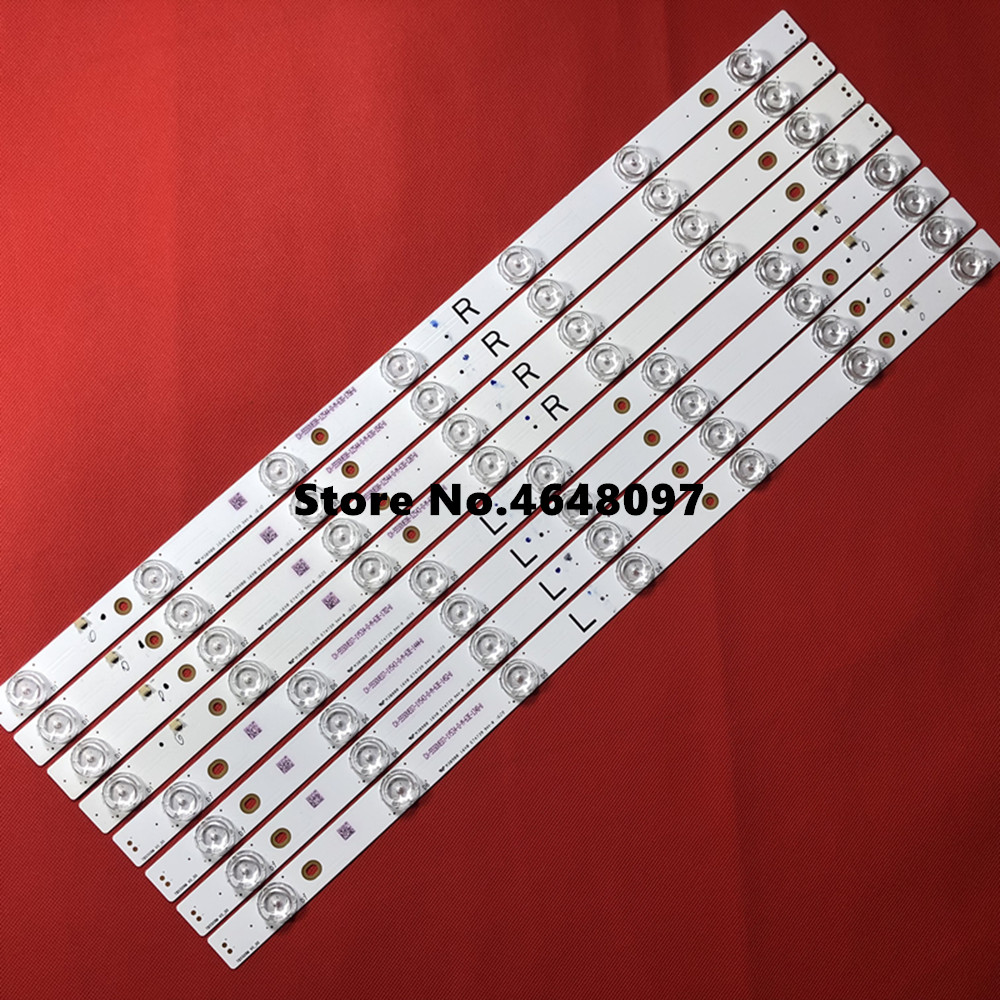 1set=8pcs Backlight Arr Ay For Tx-55dx600e Tb5509m M30900 16v0 E74739 Ex-55s0ve04-2z543-0-i-631-0489-1