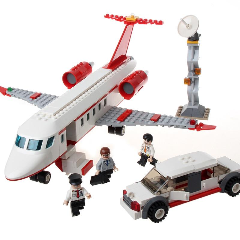 GUDI Avion jouet Building Block 334 pcs Série Aérospatiale Privé - Concepteurs et jouets de construction - Photo 4