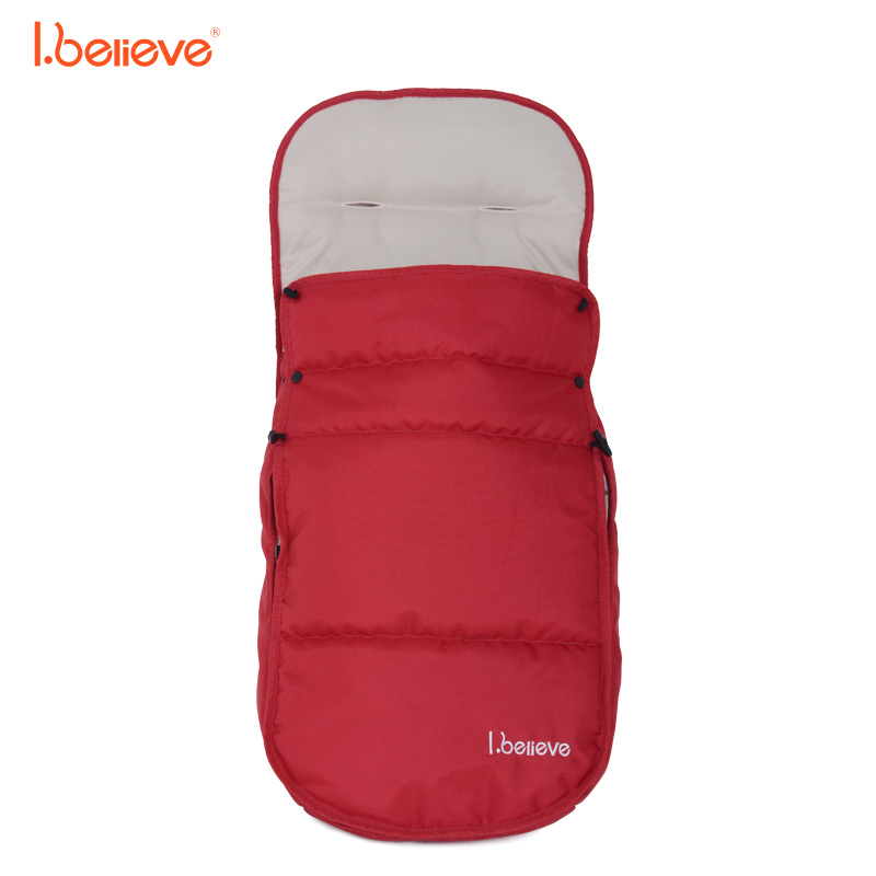 I.believe baby stroller accessories, multifunctional baby sleeping bag, winter warm cotton sleeping bag free shipping