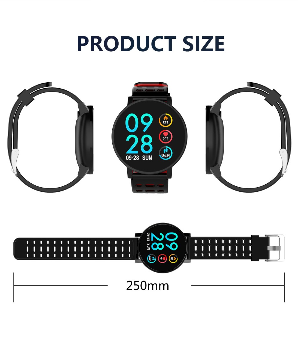 Q9 Smartwatch IP67 Waterproof Wearable Device Bluetooth Pedometer Heart Rate Monitor Color Display Smart Watch For AndroidIOS (14)