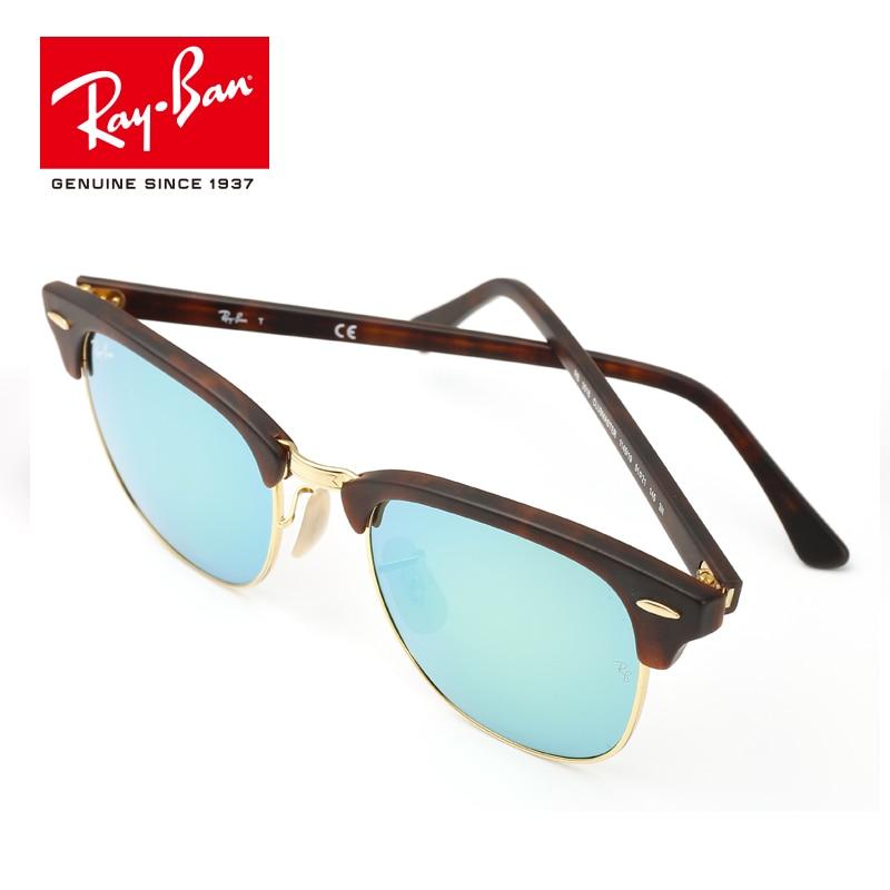 Rayban 2018 Original Brand Designer Sunglasses UV prescription Men Women Sun Glass outdoor RB3016-1145/19 freeshin