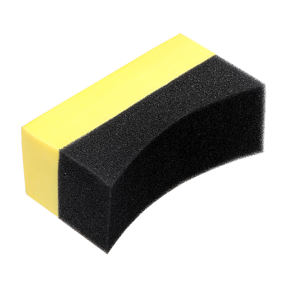 EVA Tyre Tire Brush Multi-functional Car Wash Sponge Household Wax Foam Polishing Sponge Cleaning Tool U-Shape Auto Care