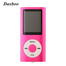"Daxboo Newest 1.8"" LCD 4th Digita Christmas MP4 Player FM Radio E-Book Support for 2GB 4GB 8GB 16GB SD TF memory Card"