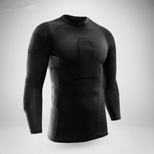 2017 New rugby football jerseys boxing sports safety thicken ski snowboard soccer goalkeeper jersey elbow tights coat protector