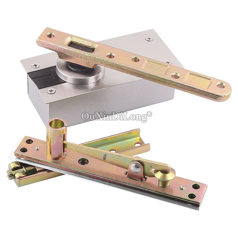 Alta Qualidade 1 Set Heavy Duty Pivot Dobradiças Da Porta 360 Graus de Rotação de Instalação para Cima e Para Baixo 350 KG Rolamento