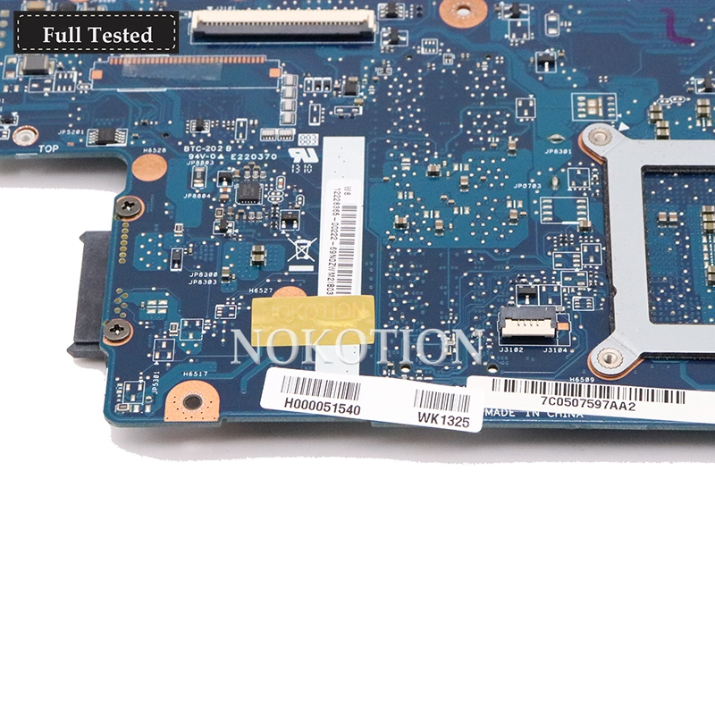 motherboard graphics NOKOTION Brand New H000051540 Main board For toshiba satellite C850 L850 c855 Laptop motherboard HM76 intel HD GMA Graphics (3)