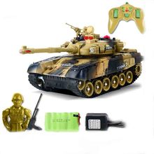 RC Tank 1/20 9CH 27Mhz Infrared RC Battle Tank Cannon & Emmagee Remote Control Tank remote toys for boys Xmas Gifts For Kids цена 2017